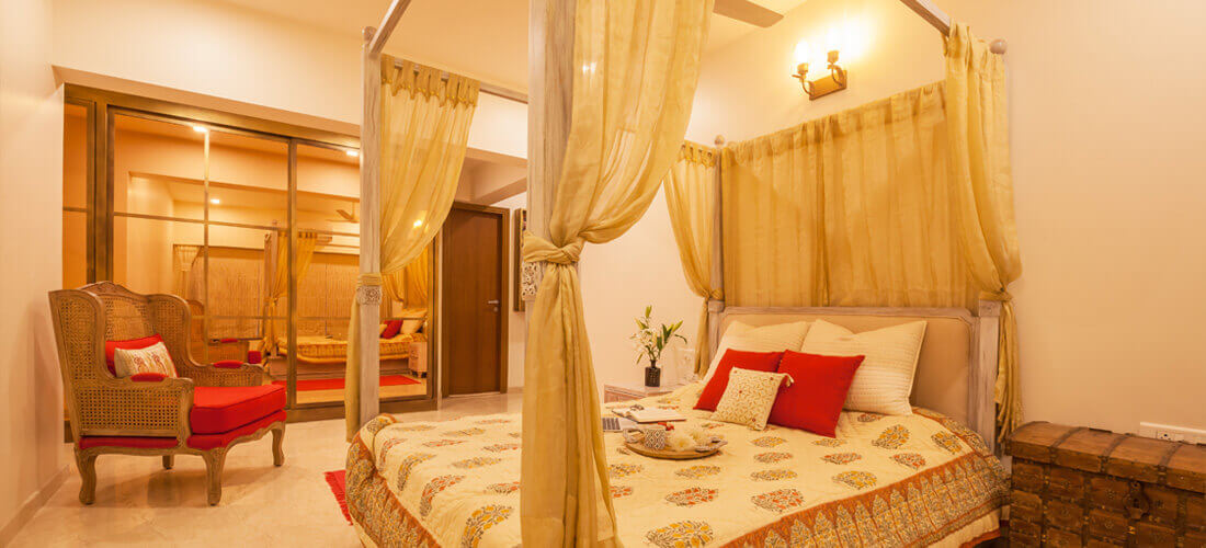 Tiwari Residency - Bed Room